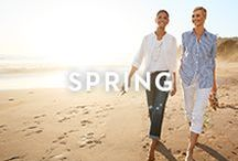 SPRING / Birds chirping. Snow's melting. And it's time for a wardrobe refresh featuring shorts, tees, cargos and more.