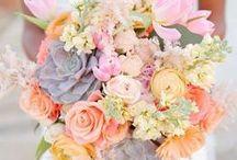 Springtime Wedding Florals / Inspiration for your Spring Event.