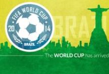 2014 FIFA World Cup / Gear up for the 2014 FIFA World Cup!  After a 4 year hiatus the World Cup takes center stage in Brazil.  Cheer on team and country with official World Cup apparel from Fanzz!