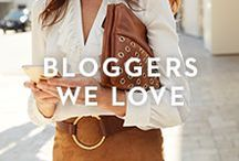 BLOGGERS WE LOVE / A few of our favorite friends show us how they're styling our latest looks.