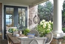 Living on the Porch / Great designs and decorating ideas for any #porch