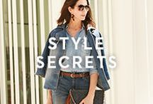 STYLE SECRETS / Need a little style help? Check out some tips from our style expert and make chic happen.