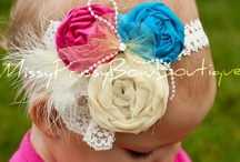 Missy Prissy Bow Boutique / Bows, bows, bows! Gorgeous hair bows for little girls that are to die for