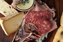 Cheese & Charcuterie / Cheeses I've tried, notes on whether or not I liked them, cheeses I want to try, cheese accompaniments, and lovely photos of cheese & charcuterie. / by Kelly Hickenbottom