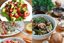 Diabetes / Healthy Eats / Less simple carbs, more protein and veggies. / by Mandy Steinhardt