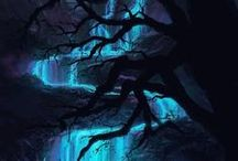 Waterfalls / Beautiful serene waterfalls