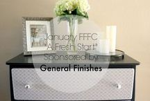 Furniture Redo's / Giving old pieces of furniture new life!