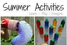 Playtime ideas