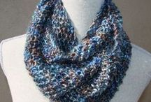 Giangi's Design / I love  scarfs and I always wear one to add the final touch to a simple ensemble.