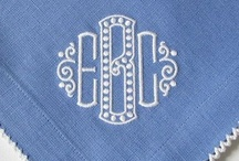 Embroidery & Monograms / Embroidery and Monograms