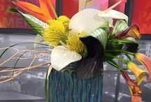 """Corporate Events / The floral arts by Bloomster's, """"Dream in Flowers."""" As a premier San Jose florist, Bloomster's can service all your corporate event needs. We not just you average florist. We do it all from flowers, lighting, linens, & backdrops, to party rentals and everything else. You can be assured that all your event flowers & decor will consist of only the best quality flowers and designs around."""