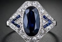 Blue Gems / Bleu gems, sapphires