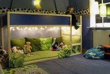 "Boys Room Decor / Boys bedroom ideas plus ideas and inspiration for a masculine ""man cave"""