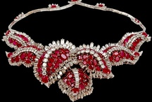 Red Gems / Red gems, rubies, garnets, corals...
