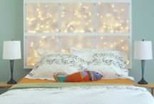 Teen Room Decor / Lots of inspiration for decorating your room! If you want boho, super girly, bright colors, or modern, there is teen room inspiration here for you. If you're on a budget, you'll still be able to have some cool DIY teenage room decor!