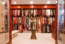 Closets / Closets, women closets, men closets, storage areas