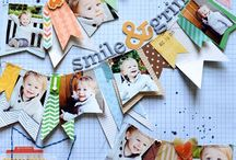Scrapbooking Layouts complete / Scrapbook layouts I've tried