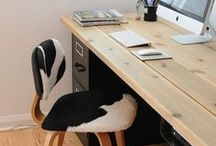 DIY Studio / Enjoy these modern and rustic DIY studio ideas, modern office concepts, and shared workspace office inspiration.