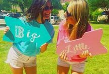 Sorority Crafts / From DIY Big Little gifts to Greek Week crafts, sorority crafts are so fun!  Here are a bunch of crafts that you could make for your sorority no matter your creative abilities. Put those greek letters on everything ladies!