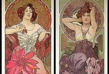 Decorative Art By Alphonse Maria Mucha