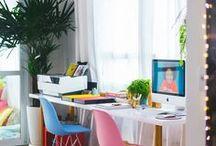 Office Goals / Office ideas • Office organization • office decor • industrial office • home office ideas