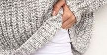 Knitwear / All warm and fuzzy knits for all occassions