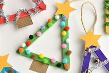 Christmas Crafts for Kids / Christmas crafts for kids are AWESOME. You're going to love these snowman crafts for kids, Christmas party crafts for kids, and more.