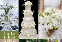 Calla Lily Wedding Theme / Calla lillies are popular in many, many weddings. Brides can use this flower in almost every aspect of their wedding...from ceremony to reception. Calla lillies represent elegance, charm, beauty and grace, and add a sophisticated touch.
