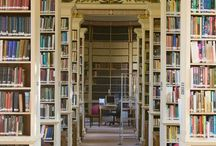 Literary - Where Adventures Await - libraries & bookshelves / Bookshelves, libraries