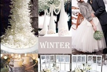 Winter Wedding Ideas / We've curated photos to help you plan your winter wedding. We hope you will find ideas and inspiration here!
