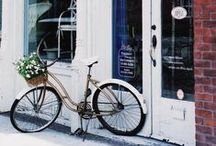 Pretty Things / Pretty Things / Photography / Flowers / Fashion Blog / Colorful Doors / Florals / Bicycles / by My Style Vita | Fashion & Lifestyle Blog