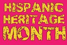 Hispanic Heritage Month / Each year, Americans observe National Hispanic Heritage Month from September 15 to October 15, by celebrating the histories, cultures and contributions of American citizens whose ancestors came from Spain, Mexico, the Caribbean and Central and South America. #HHM #Latinos #SpeakingLatino / by Speaking Latino