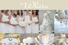 White Wedding  / Fresh & gorgeous!  You can't go wrong with an all-white wedding. Check our pins below for some fabulous ideas.