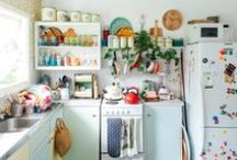 tiny home / interior ideas for a small artful living space with character and love