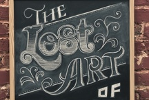 I ♥ Typography/Posters / by Angela Truzinski
