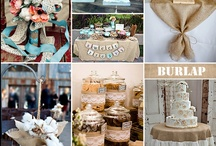 Burlap Wedding Ideas / Burlap has becoming a popular fabric to use for rustic and casual weddings. There is so much you can do with it! Check out our carefully curated photos showing how you can incorporate burlap in to your wedding.
