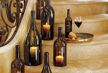 DIY Ideas using Wine Bottles