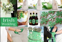Irish - St. Patrick's Day Wedding  / Ideas and Inspiration for your Irish-themed or St. Patrick's Day Wedding.