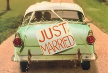 """Just Married"" Cars / Fun and simple ways to decorate the getaway car for a pair of newly married lovebirds!"