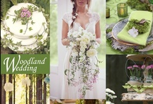 Woodland Wedding Ideas / A Woodland Wedding can actually be in the woods or can just incorporate natural elements such as moss and ferns. IT is also called a Forest Wedding.