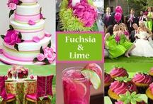 Fuchsia/Hot Pink Wedding Ideas / Want to add a color to your wedding that will really make it POP?! Try a brighter shade of pink!...