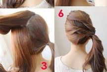 Hair How-To's / Hair tutorials and inspiration