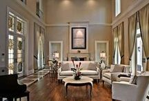Living Room Ideas / by Angie Steltzer