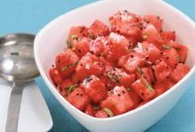 Summertime Cuisine / It's summer. Recipes for the grill, bbq, cookouts, no-cook dinners, and summer parties.