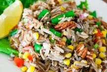 Wild Rice / Recipes and information on EDEN Wild Rice. It is hand harvested by the Minnesota Leech Lake band of Ojibwe, Native Americans. A good source of fiber, protein, niacin B3, magnesium, and zinc. Gluten free. 100% whole grain.