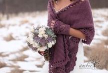 Wedding Wraps  - Shawls, Cardigans, Stoles, Shrugs, Capes / For fall and winter weddings a wrap can add a new dimension to the bride's wedding attire and keep her warm, too!