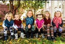 Kids Clothing/Scarves / Get these super cute Leggings and Scarves at www.classynsassy.net