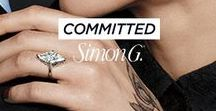 Simon G. at Exclusively Diamonds / Simon G. offers inspired individuality and a ceaseless passion for detail, as evidenced in their jewelry that exceeds expectations, from their family to yours.