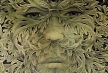 The green man and his forests / by Alexandra Barclay-Smith