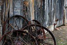 Brick . Wood . Rust / by carol emma